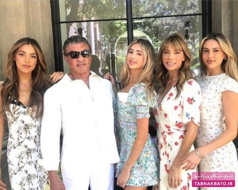 بازیگر معروف در جشن فارغ التحصیلی دخترش