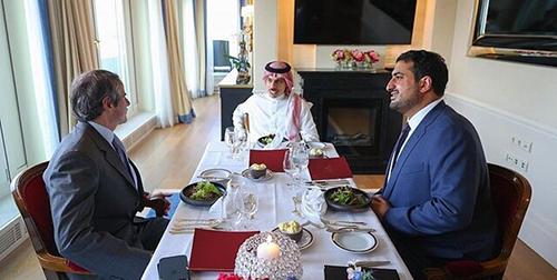میز ناهار ضدایرانی وزیرخارجه عربستان