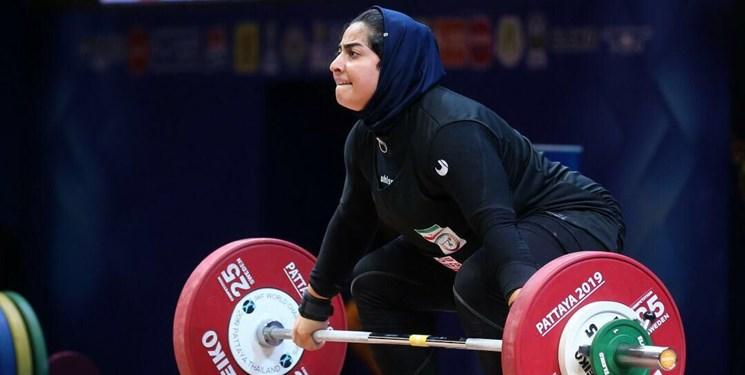 نخستین بانوی وزنه بردار ایرانی راهی المپیک شد + عکس