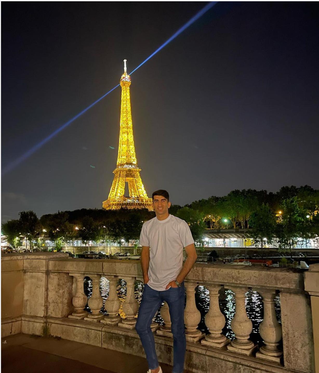سفر لوکس علیرضا بیرانوند به فرانسه+ عکس