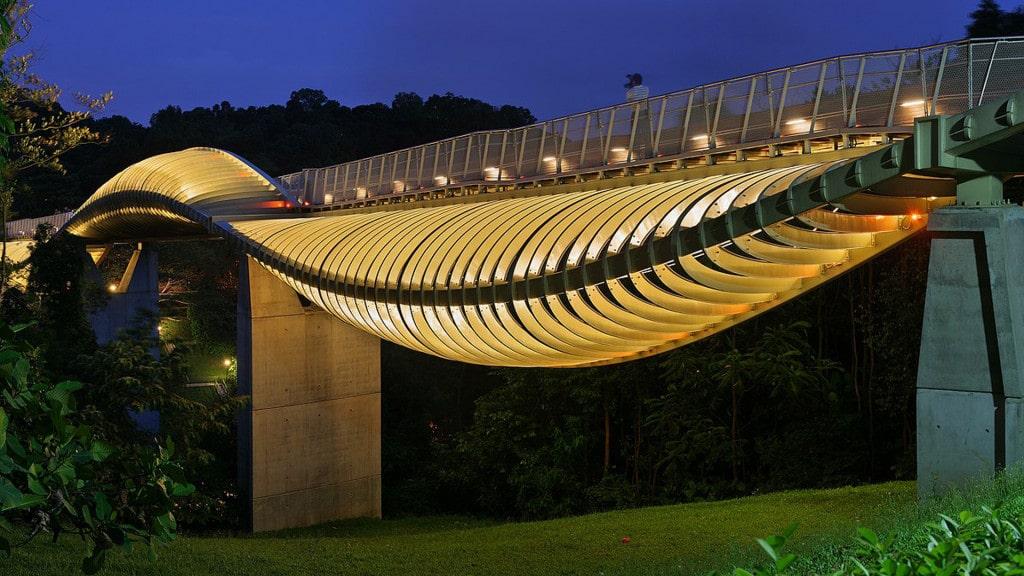پل مواج هندرسون در سنگاپور + عکس