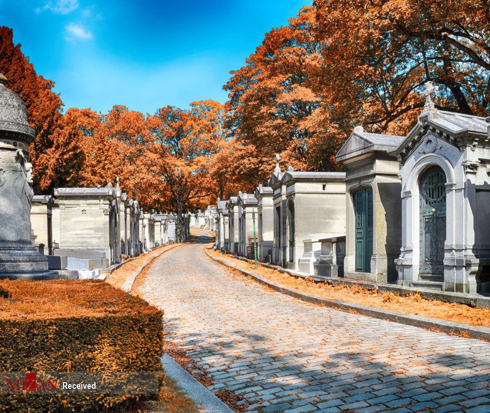 زیباترین قبرستانهای دنیا + عکس