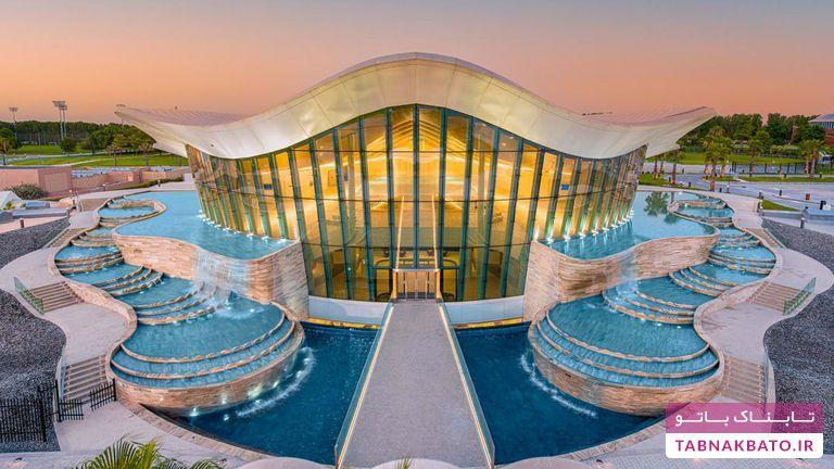 استخر دبی با امکانات شگفت، رکورد جهانی را درنوردید