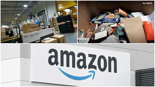 آمازون کتابهای فروش نرفته را معدوم میکند
