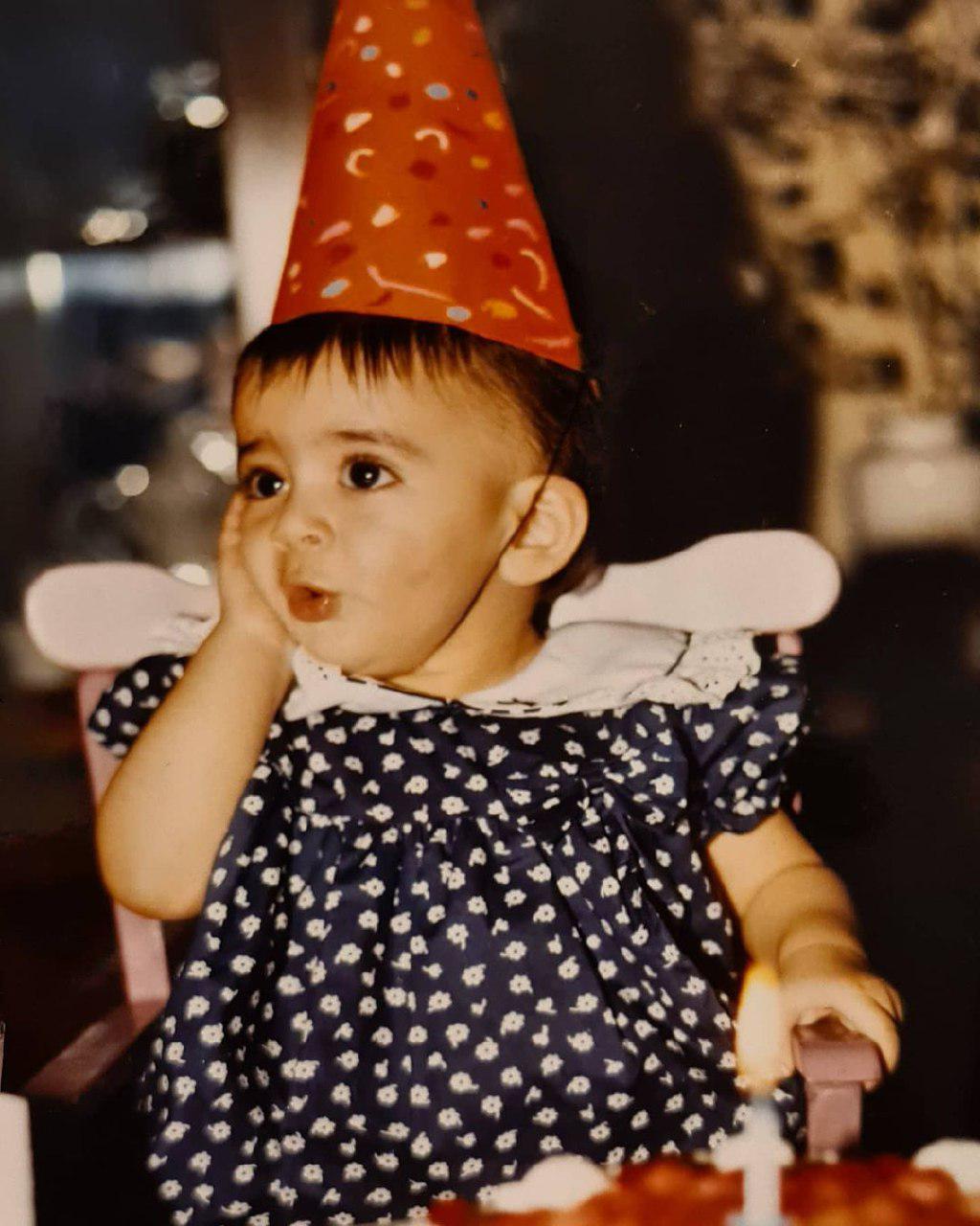 عکسی از یک سالگی «ماهور الوند»