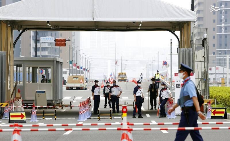 محل اقامت ورزشکاران المپیک در توکیو + عکس