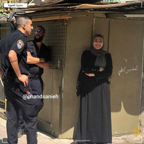 تصویر زن فلسطین در فضای مجازی پربازدید شد