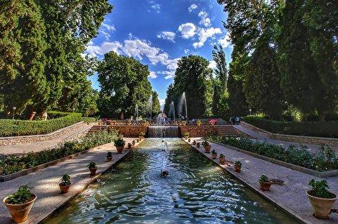 تایم لپس زیبا از تغییر فصول در باغ «شاهزاده ماهان»