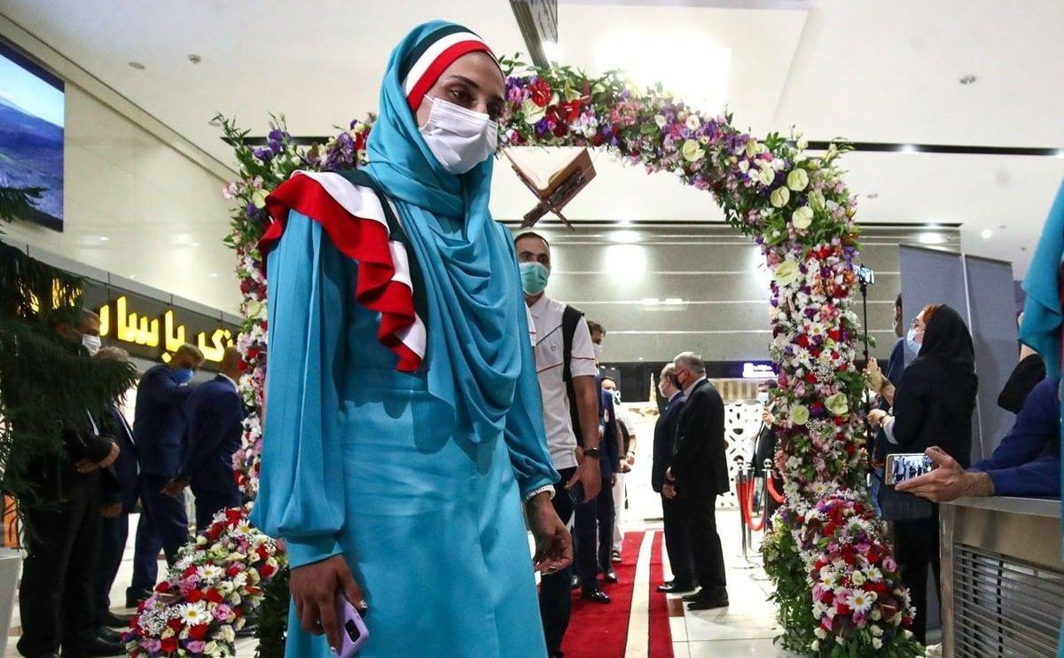 حذف لباس رسمی کاروان ایران از مراسم افتتاحیه+ عکس