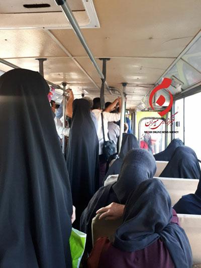 وضعیت کنایهآمیز تهران در یک روز مثلا تعطیل!