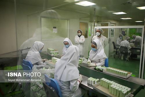 تولید داروی ضدکرونای کووکسیر پارس+عکس