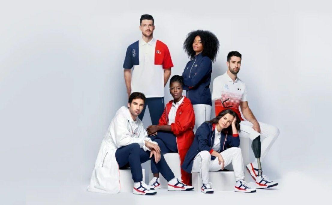 لباسهای کاروان ورزشی فرانسویها برای المپیک توکیو + عکس