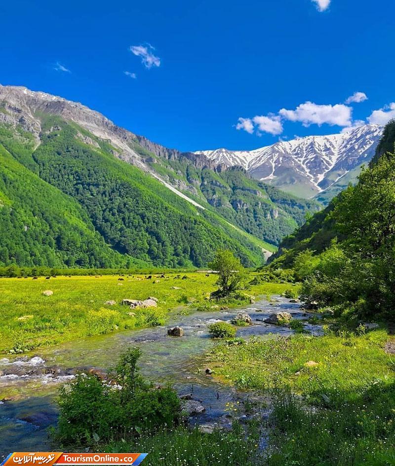 طبیعت سوئیس طوری دشت دریاسر تنکابن + عکس