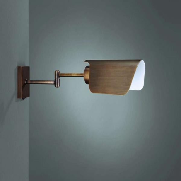 طراحی دکوراسیون با چراغ دیواری