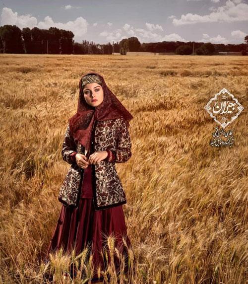 بازیگر زن در نقش «سارای گرجیِ» ناصرالدینشاه