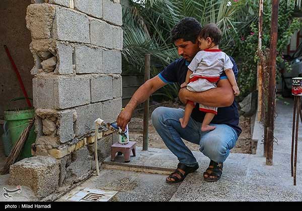بحران بیآبی در شهرک طالقانی ماهشهر