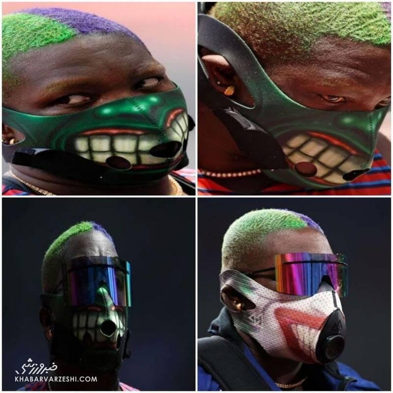 ظاهر و ماسک عجیب زن آمریکایی در المپیک سوژه شد + عکس