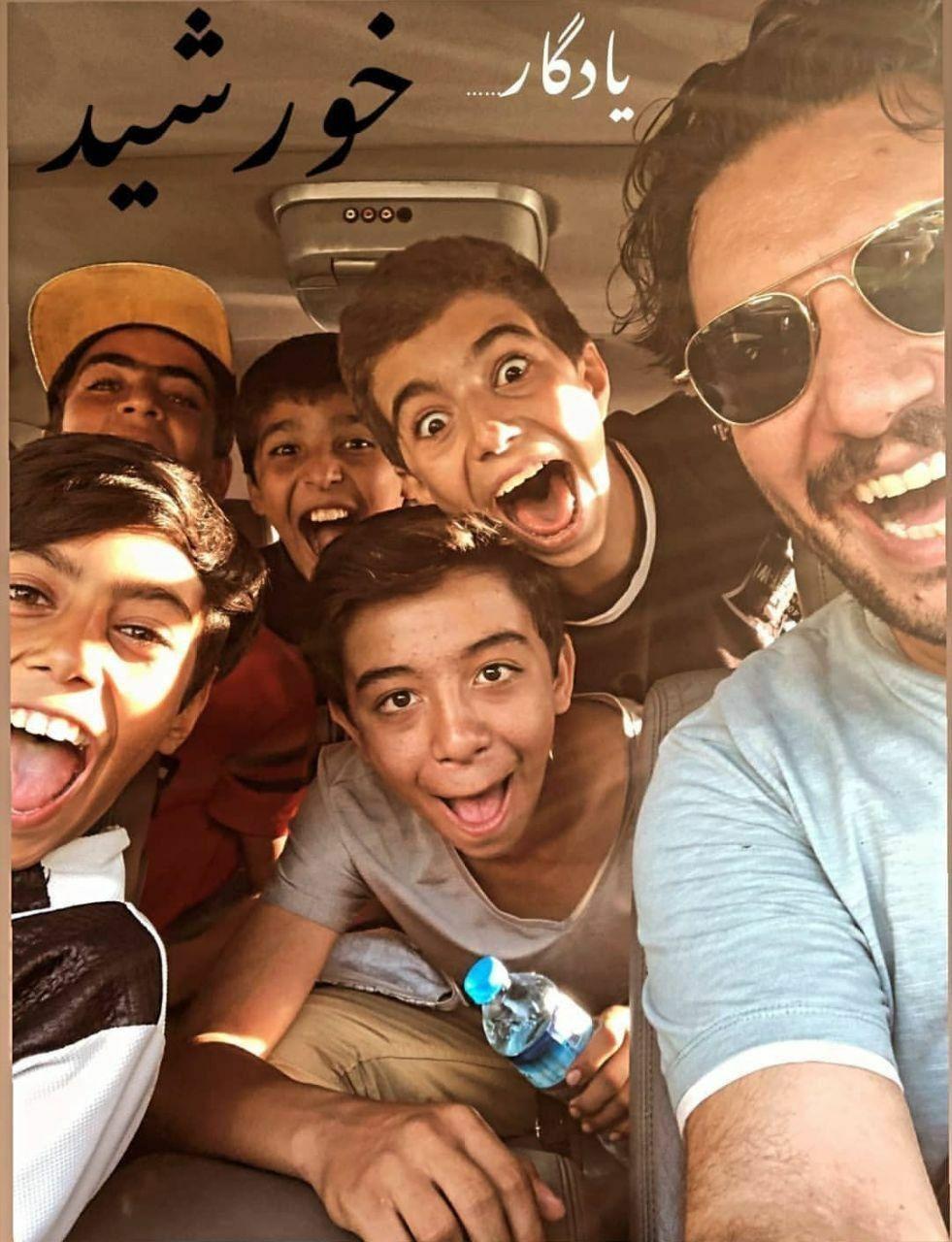 عکسی که جواد عزتی از پشت صحنه فیلم «خورشید» منتشر کرد