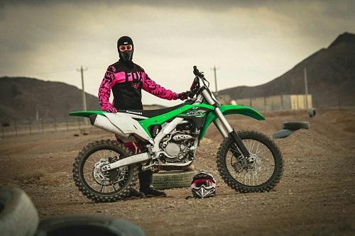 اتفاق تاریخی برای بانوی موتورسواری ایرانی