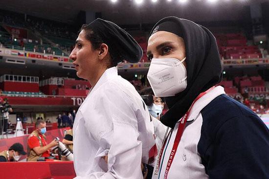 مصدومیت و گریه عباسعلی پس از حذف از المپیک