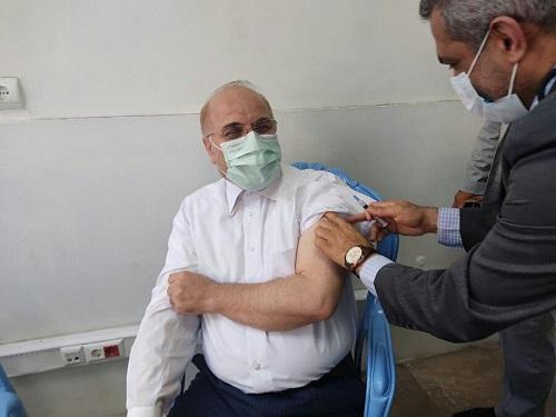 قالیباف واکسن برکت زد