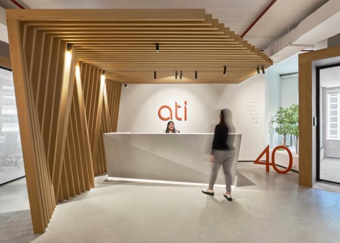 طراحی داخلی شرکت معماری ATI در دبی