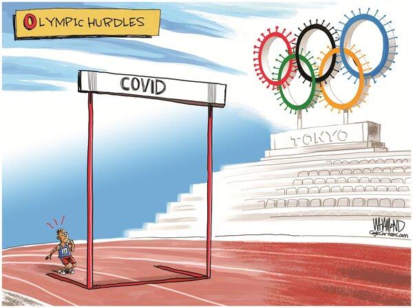 کرونا چه بلایی سر المپیک آورد+ عکس
