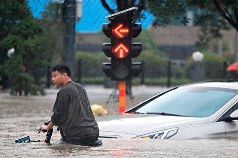 سیل با برکت در چین!