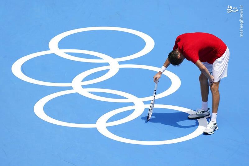 دردسر عجیب در المپیک۲۰۲۰ + عکس