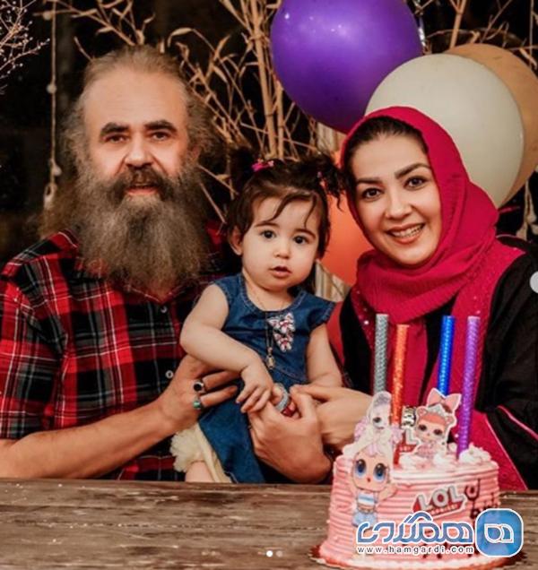 سارا صوفیانی و همسرش در جشن تولد یک سالگی دخترشان + عکس