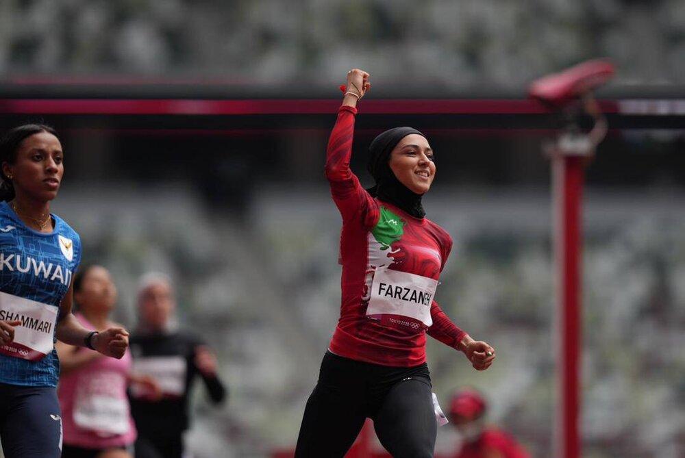 صحنه های زیبا از مسابقه دختر بادپای ایران + عکس