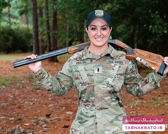 افسر زن ارتش آمریکا در المپیک ۲۰۲۱ طلا گرفت