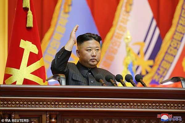 رهبر کره شمالی بازهم لاغرتر شده است