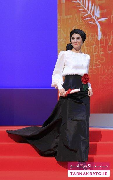 تیپ و استایل لیلا حاتمی در جشنواره های خارجی: