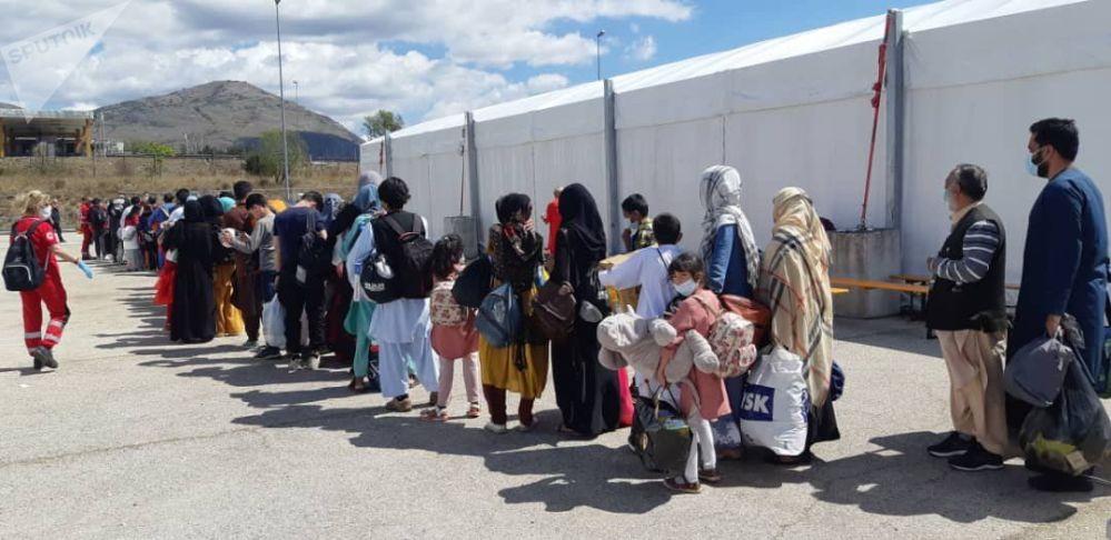 اردوگاه پناهندگان افغانستانی در ایتالیا +عکس