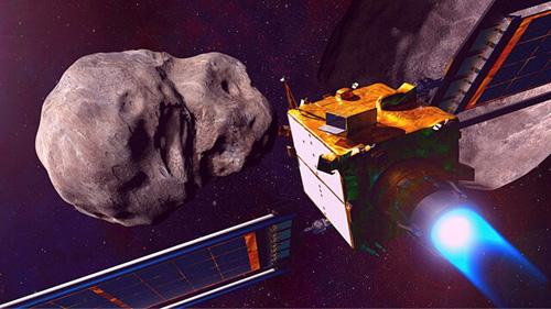 ناسا میخواهد یک فضاپیما را به یک سیارک بکوبد