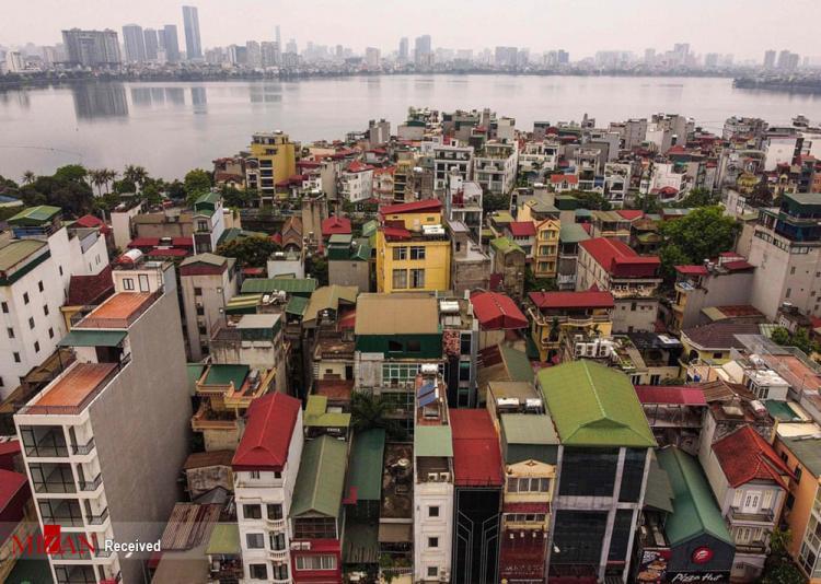 خانههای باریک در ویتنام