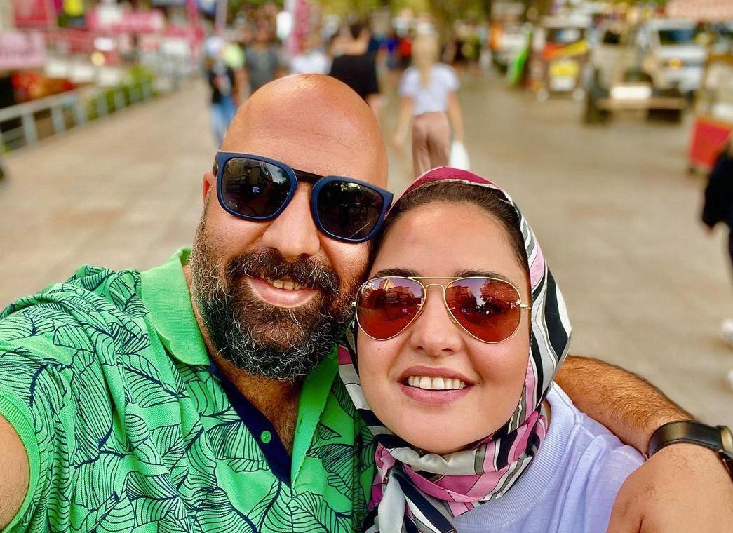 پست نرگس محمدی به مناسبت چهارمین سالگرد ازدواجش + عکس