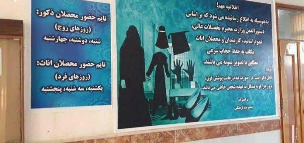 حجاب مورد نظر طالبان برای دختران در دانشگاهها+ عکس
