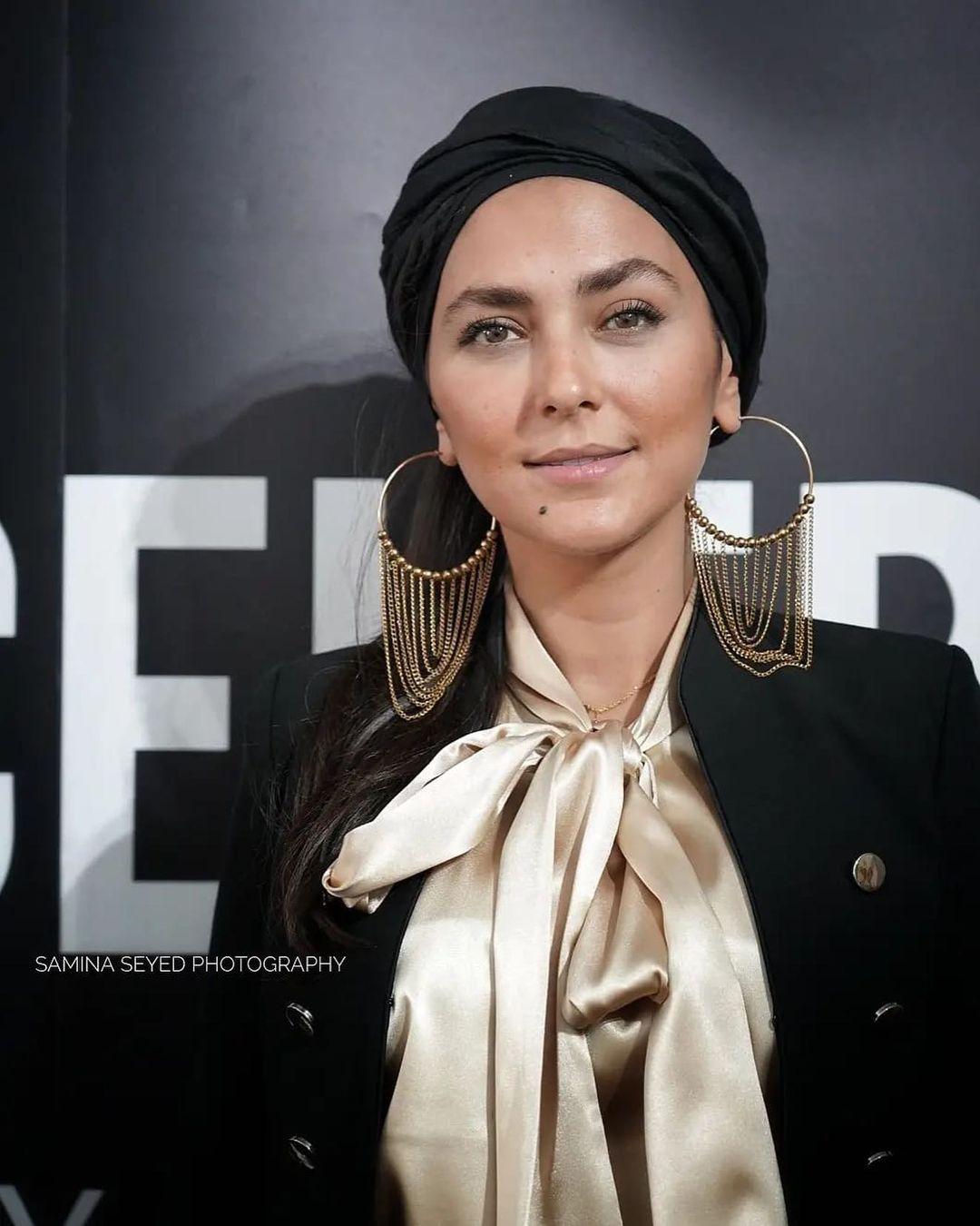 پوشش و جواهرات متفاوت بازیگر ایرانی در ونیز