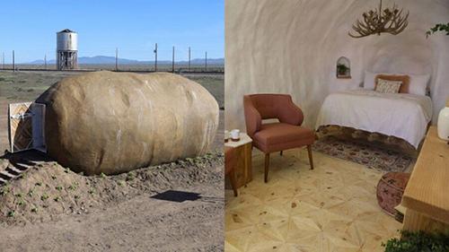 هتلی شگفتانگیز به شکل سیبزمینی