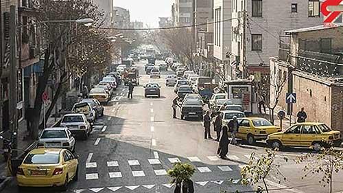 ماجرای برهنگی زن جوان در خیابان پیروزی تهران