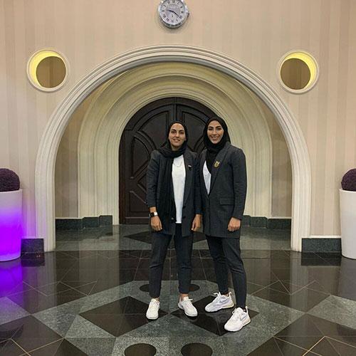 پرواز کاملا زنانه دختران کتوشلواری فوتبال ایران