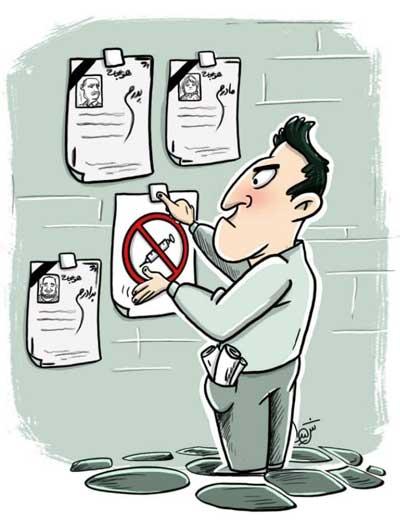 کارتون معنادار درباره واردات واکسن به ایران