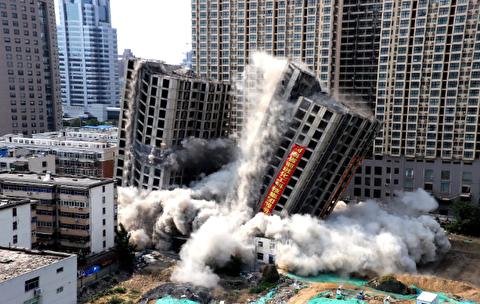 فیلمی دیدنی از یکی از بزرگترین تخریبهای سالهای اخیر
