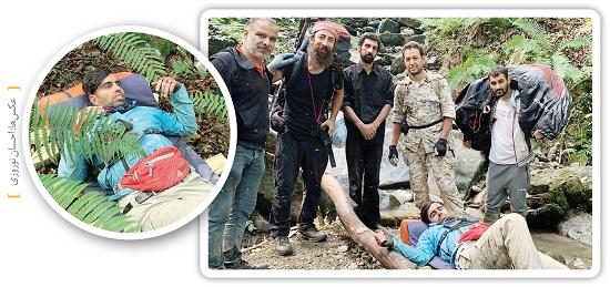 ماجرای جدال خلبان پاراگلایدر با مرگ در سوادکوه