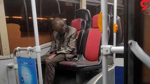 ماجرای کشف جسد روی صندلی اتوبوس شرکت واحد