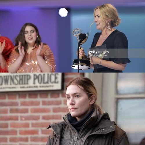اهدای جایزه بهترین بازیگر زن امی به کیت وینسلت