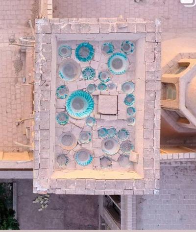 تصویری متفاوت از یک بادگیر در شهر یزد