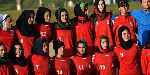 دختران فوتبالیست افغان به پرتغال پناهنده شدند